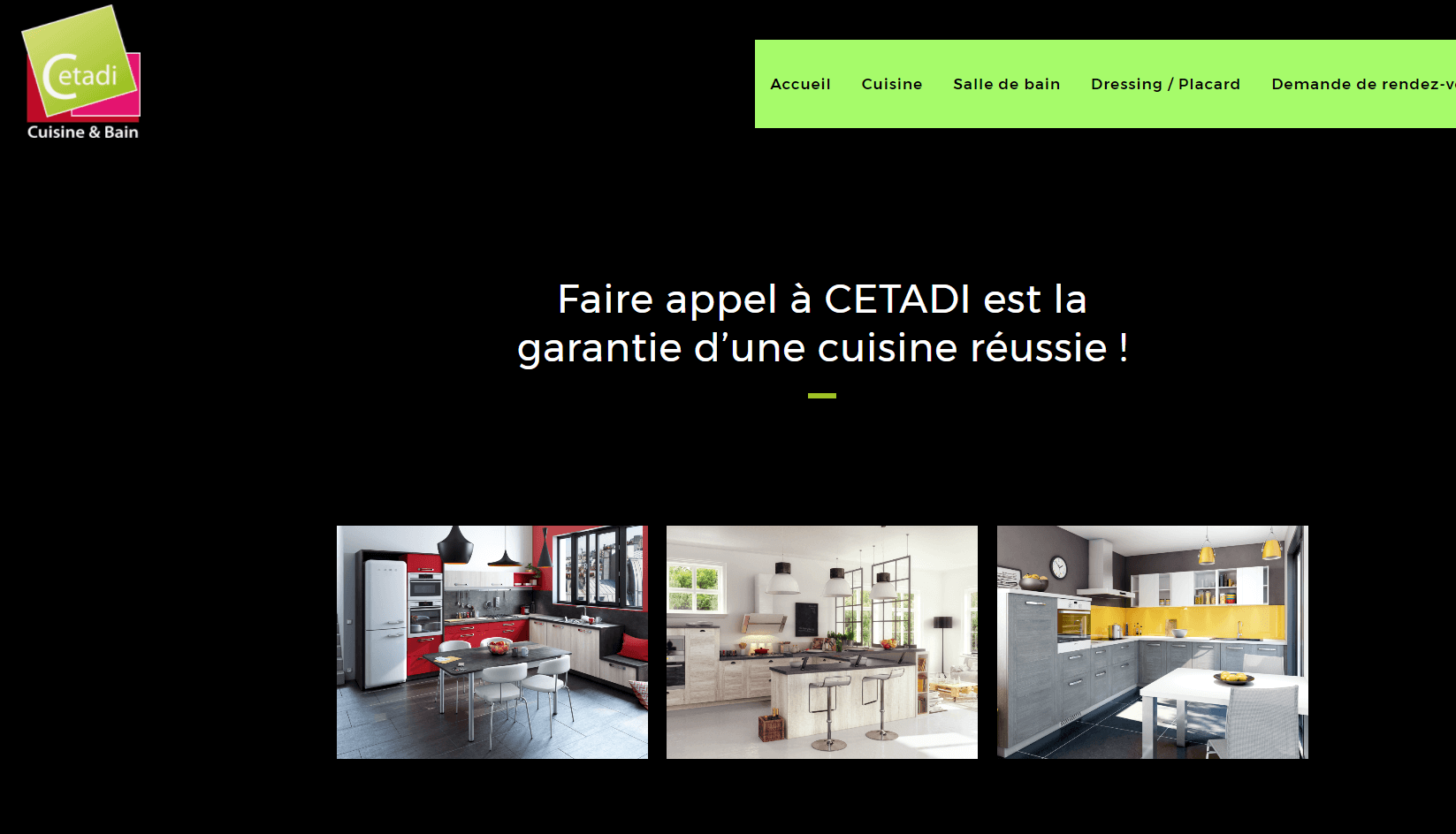 cetadi meuble de cuisine clermont ferrand arena studio. Black Bedroom Furniture Sets. Home Design Ideas